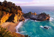 Sunset Cove, Big Sur Coast, CA
